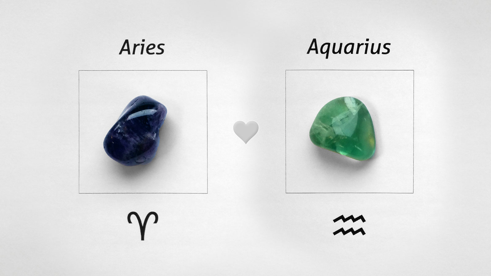 Aries Aquarius Zodiac Signs - Compatibility in Love and Friendship
